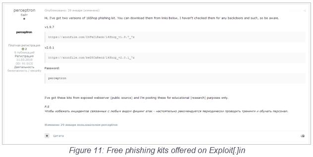 phishing kits
