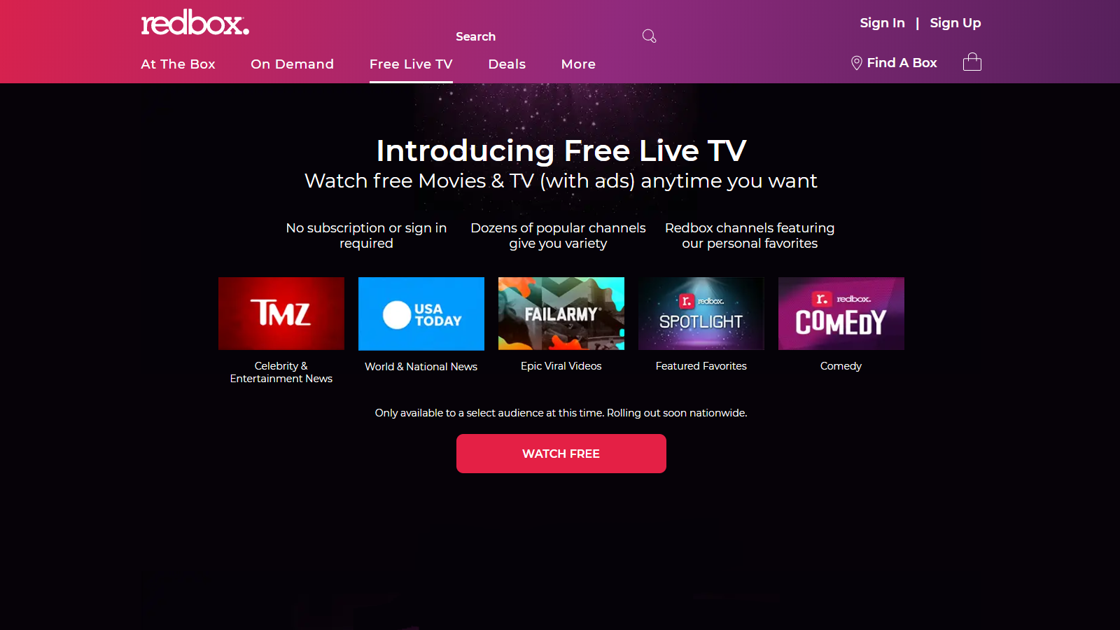 Redbox Enters the Streaming Market with a New Ad-Supported TV Service - TechNadu