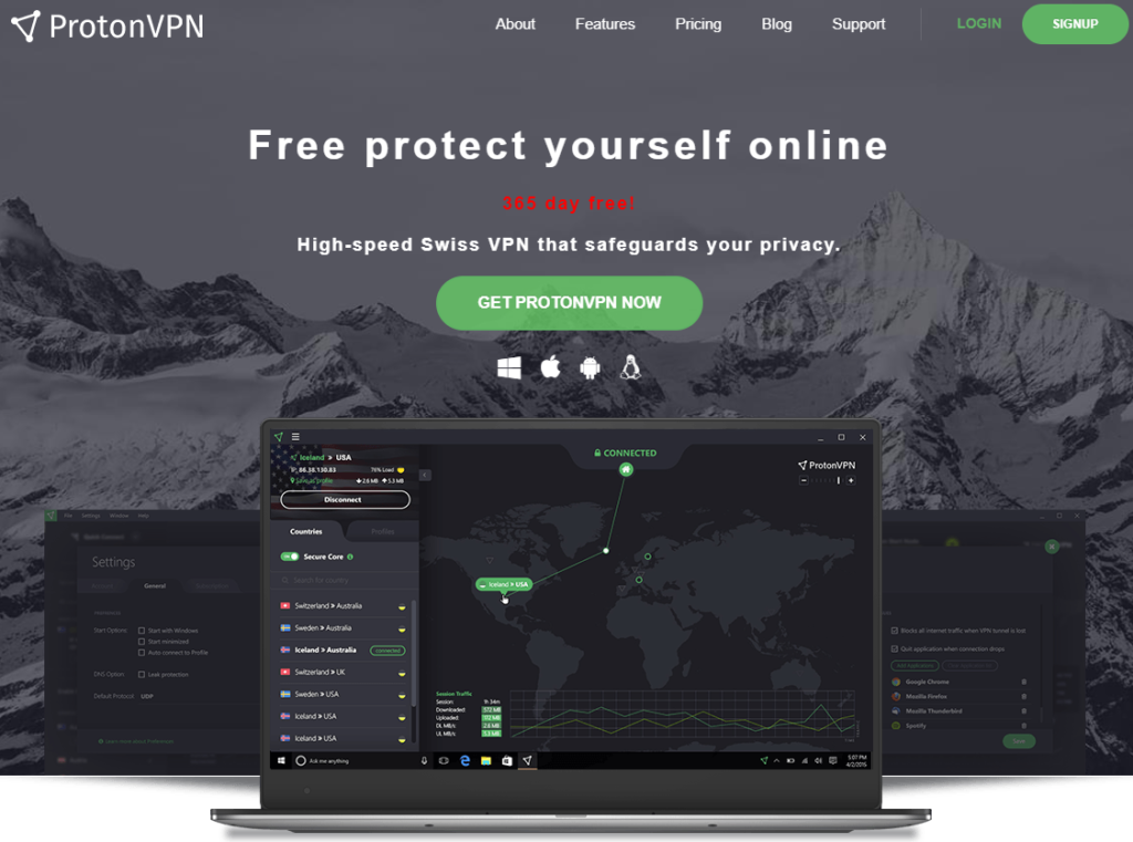 fake VPN domain