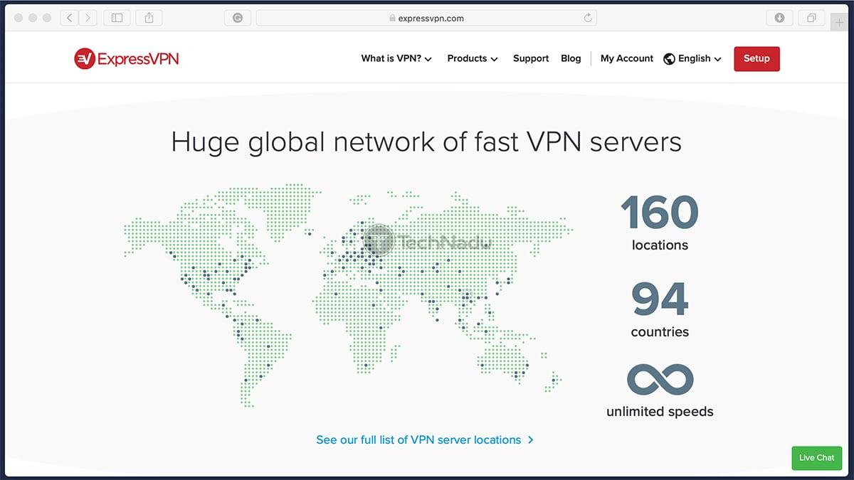 ExpressVPN Servers Stats