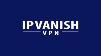 IPVanish Logo Blue Background