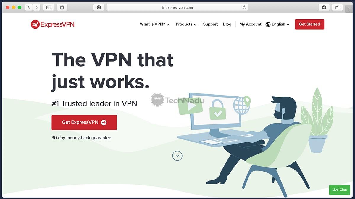 Link to ExpressVPN Website