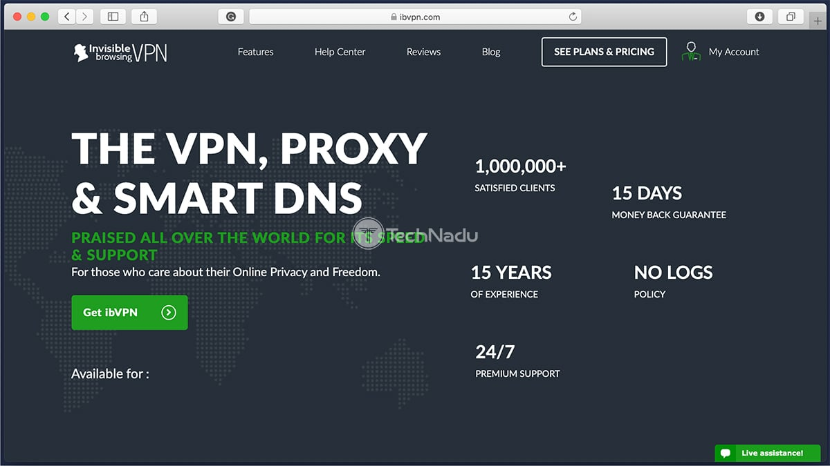 Link to ibVPN Website