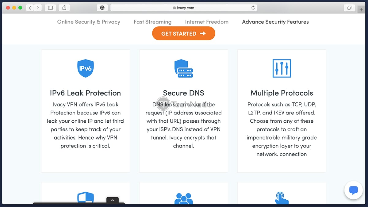 List of Ivacy VPN Features