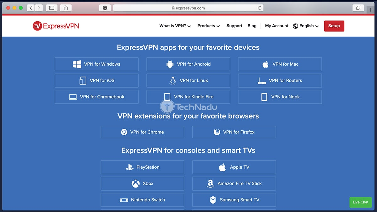 List of Supported Devices ExpressVPN