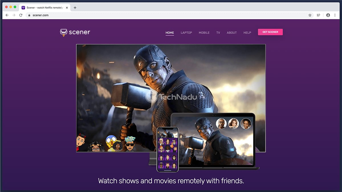 Screner Official Website UI