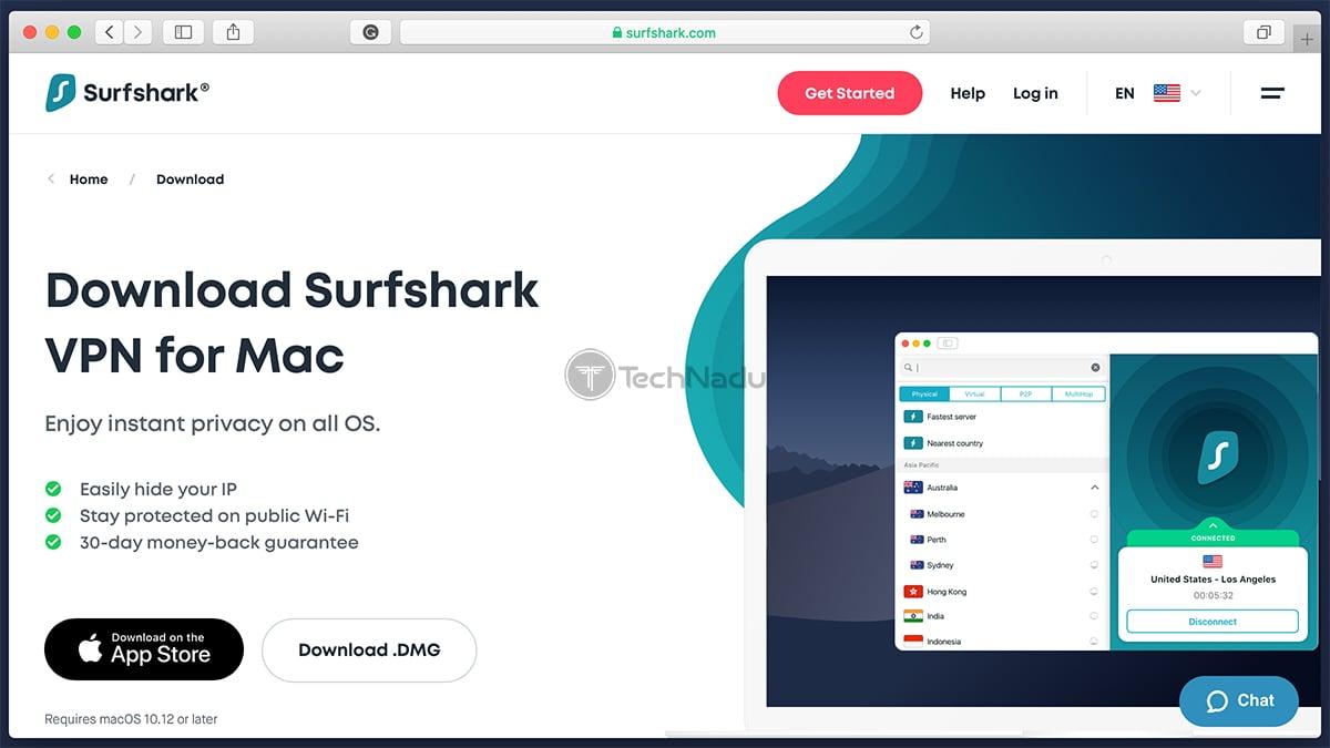 Surfshark App Download Page