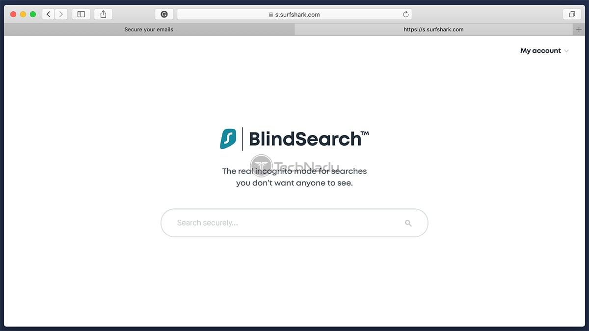 Surfshark Blindsearch