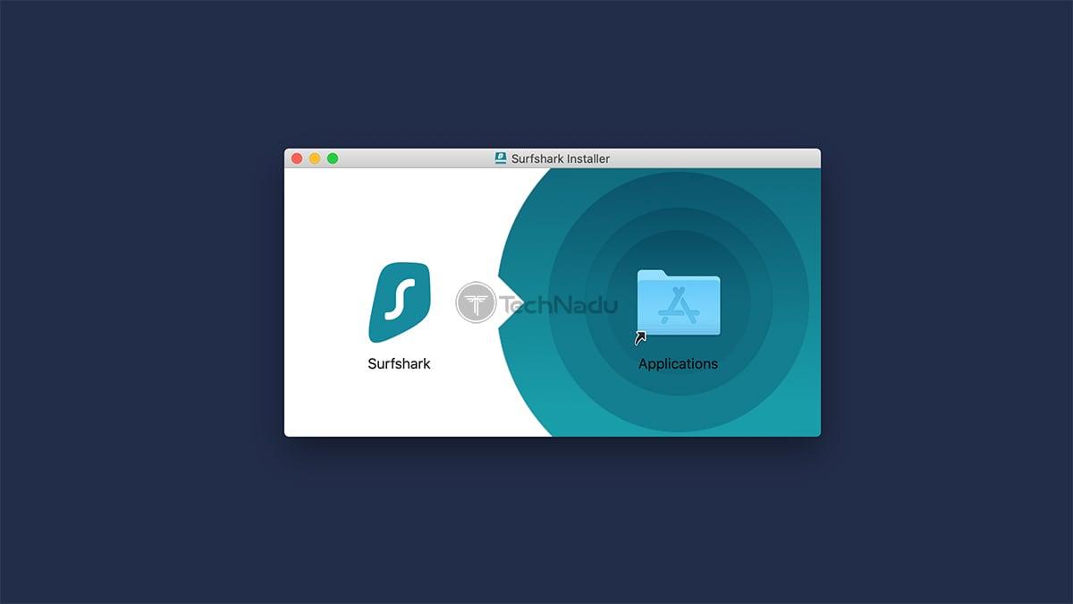 Surfshark macOS Installation