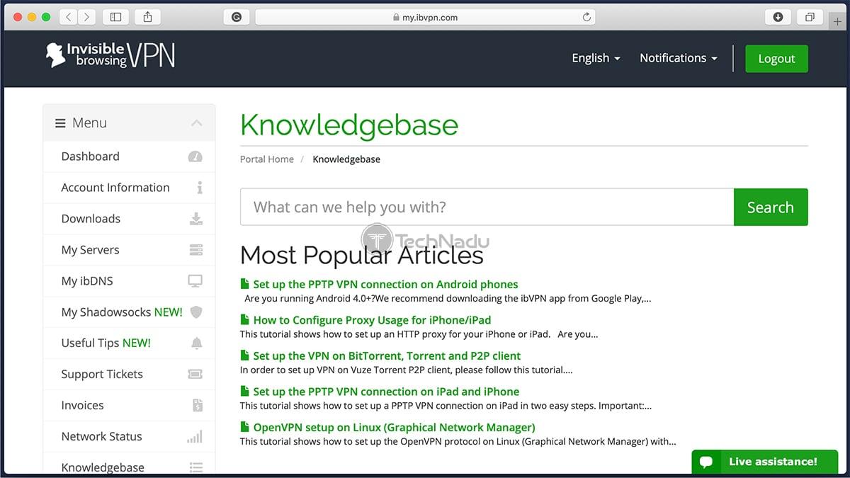 bVPN Knowledgebase