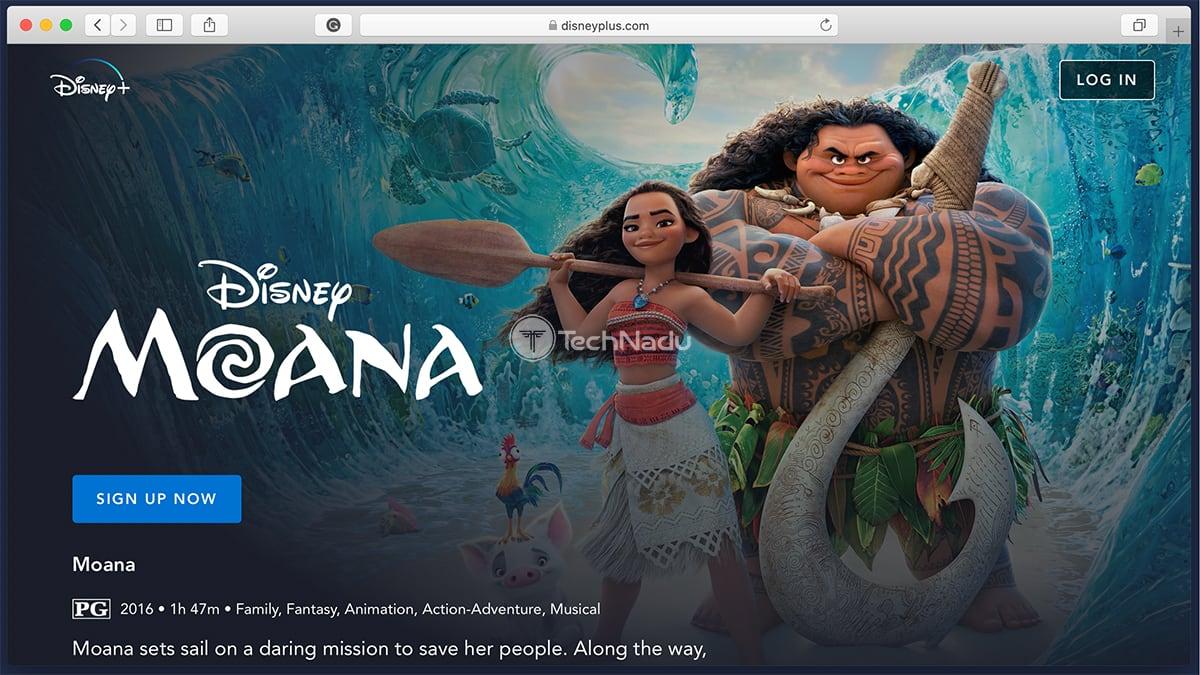 Disney Plus Synopsis Moana