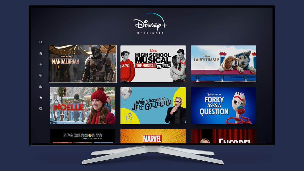 Disney Plus App on Smart TV