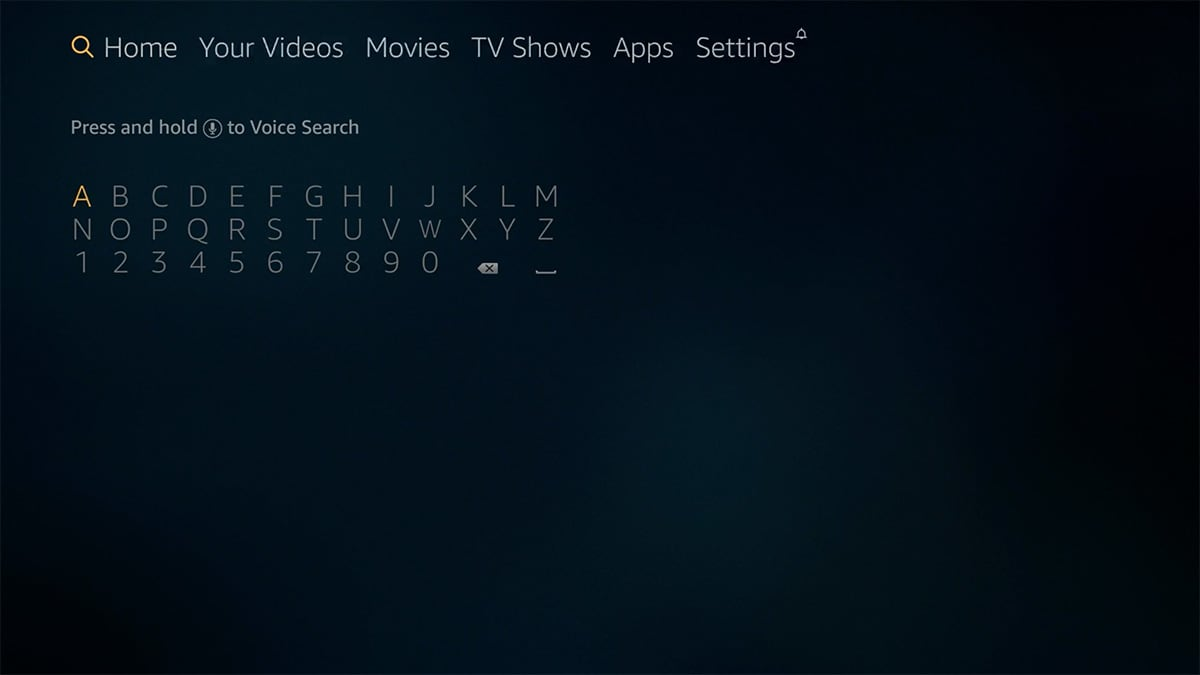 Fire OS Search Functionality