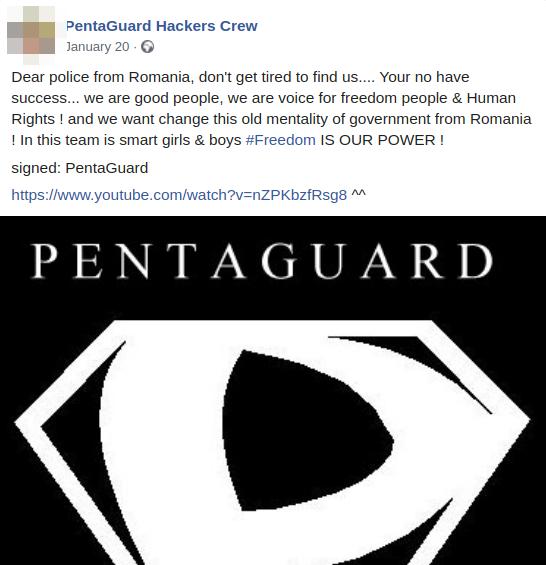 PentaGuardmessage