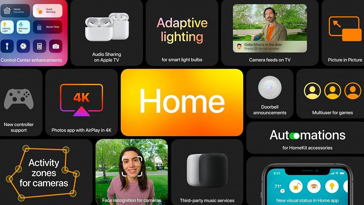 Apple TV tvOS 14 Banner