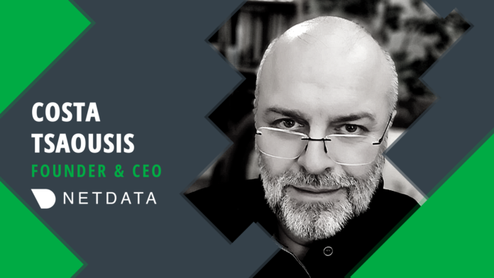 Costa Tsaousis, Founder and CEO of Netdata