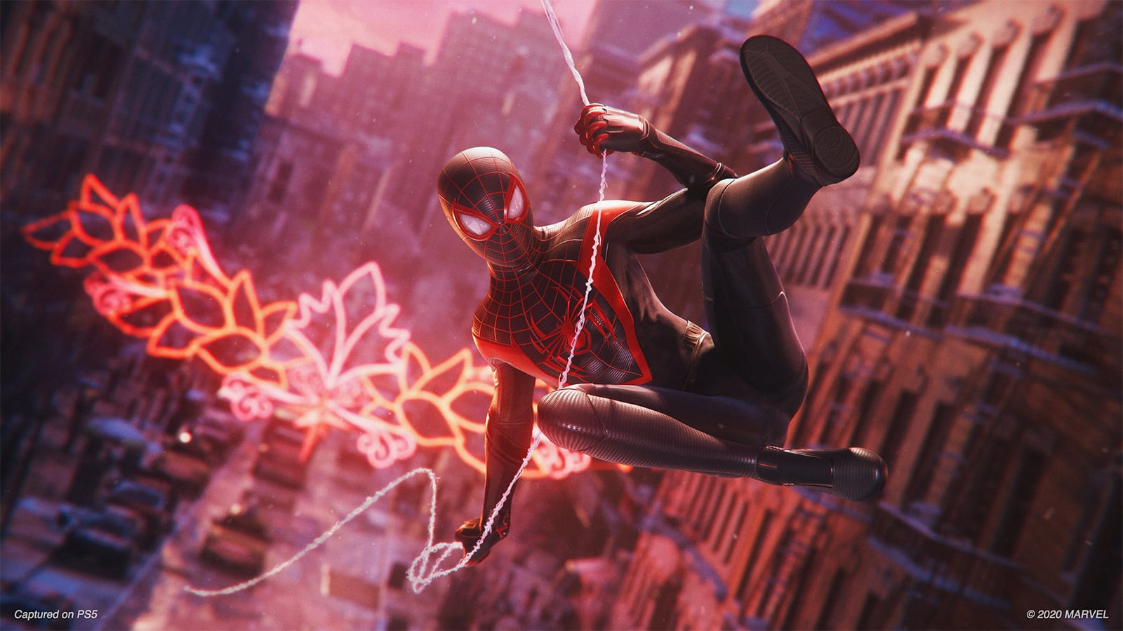 Spider Man Miles Morales on PlayStation 5