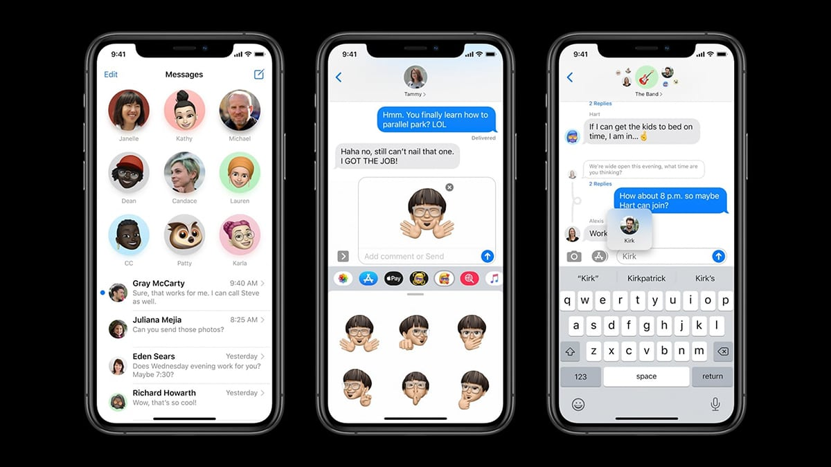 iOS 14 Messages App
