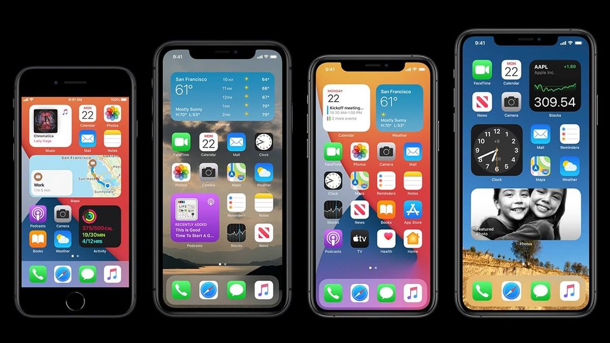 iPhones Running iOS 14