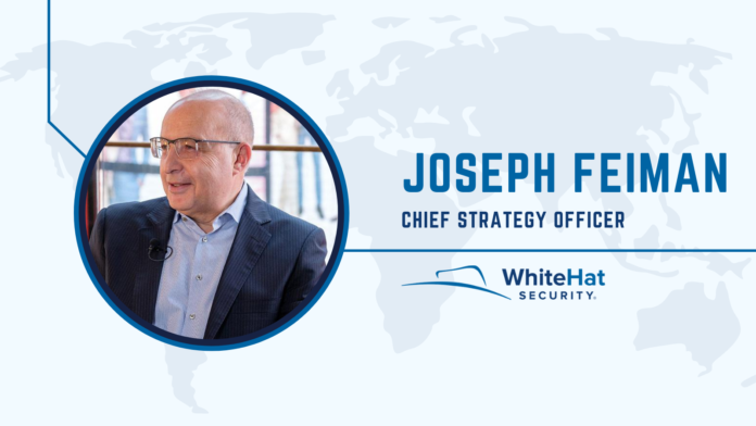 Joseph Feiman, Chief Strategy Officer at WhiteHat Security