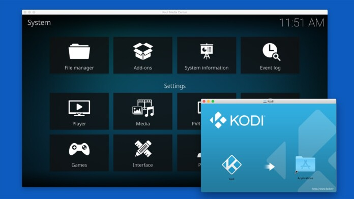 Updating Kodi on macOS