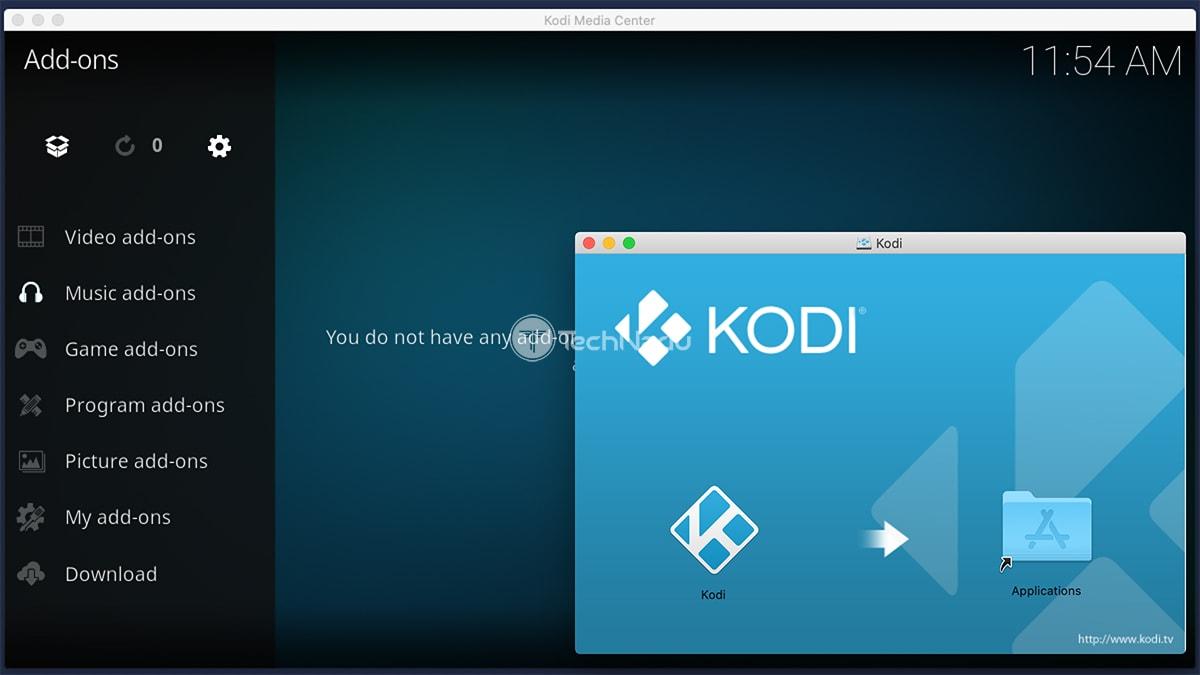 Updating Kodi on macOS
