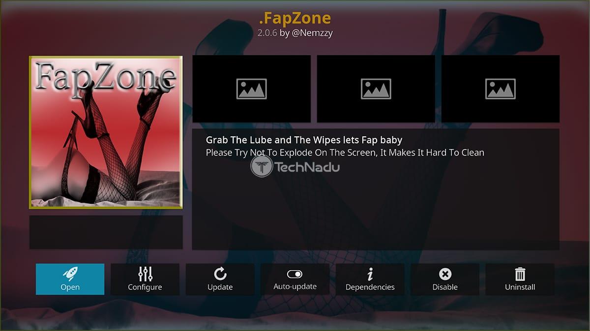 FapZone Adult Kodi Addon