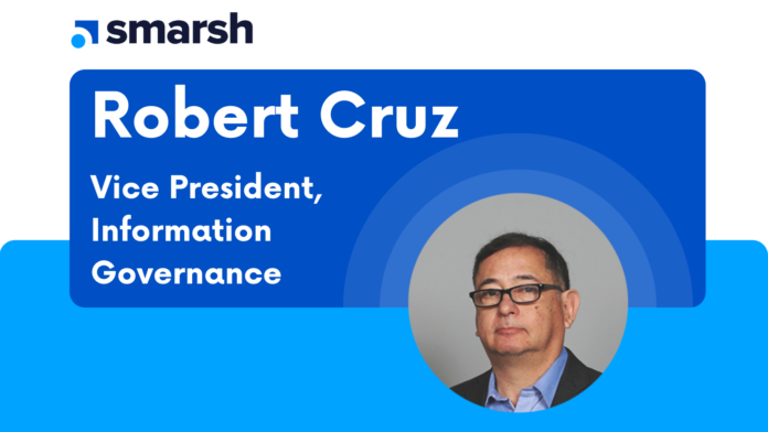 Robert Cruz, VP of Smarsh