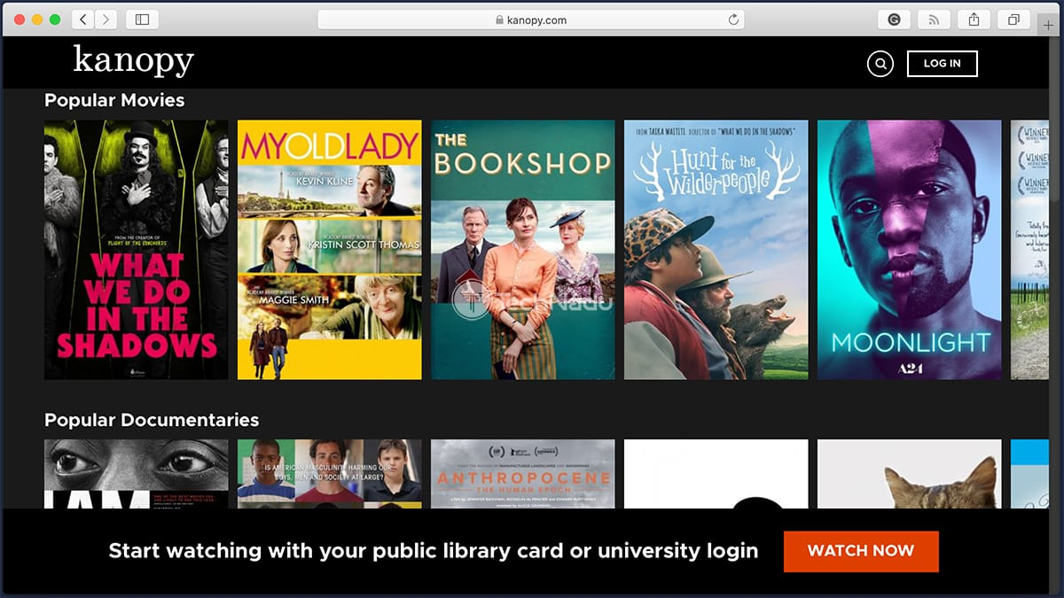 Kanopy Library of Free Movies