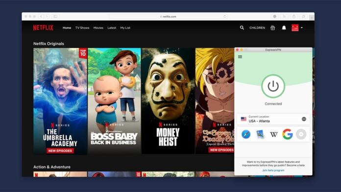 Unblocking Netflix via ExpressVPN