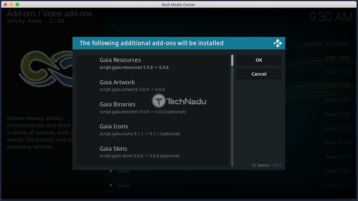 Unofficial Kodi Addons Asking for Dependency Installation