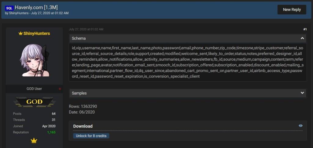 havenly-hacker-forum