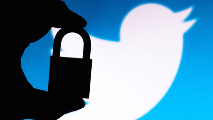 twitter lock