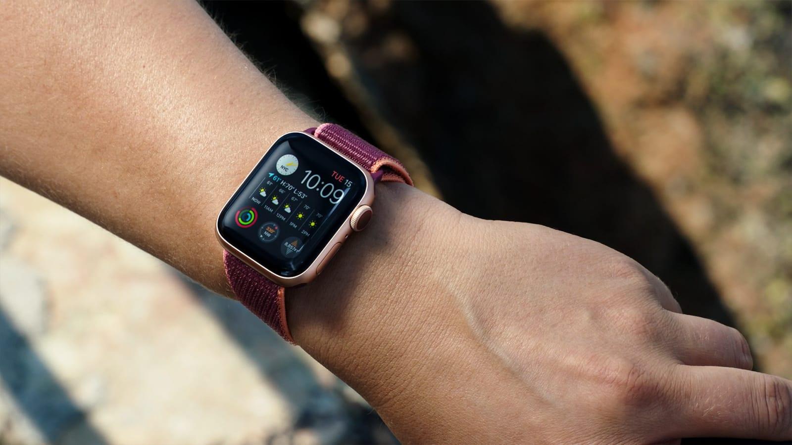 Apple Watch Series 6 Nylon Band