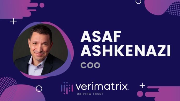Asaf Ashkenazi, COO, Verimatrix