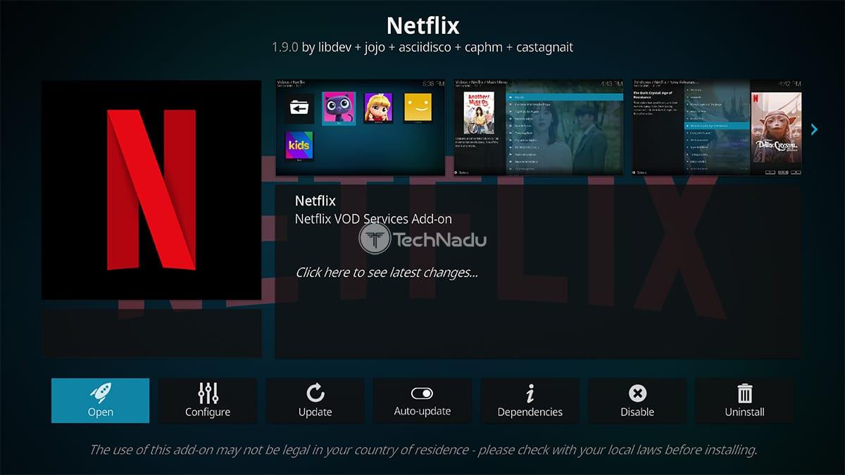 Netflix Addon for Kodi