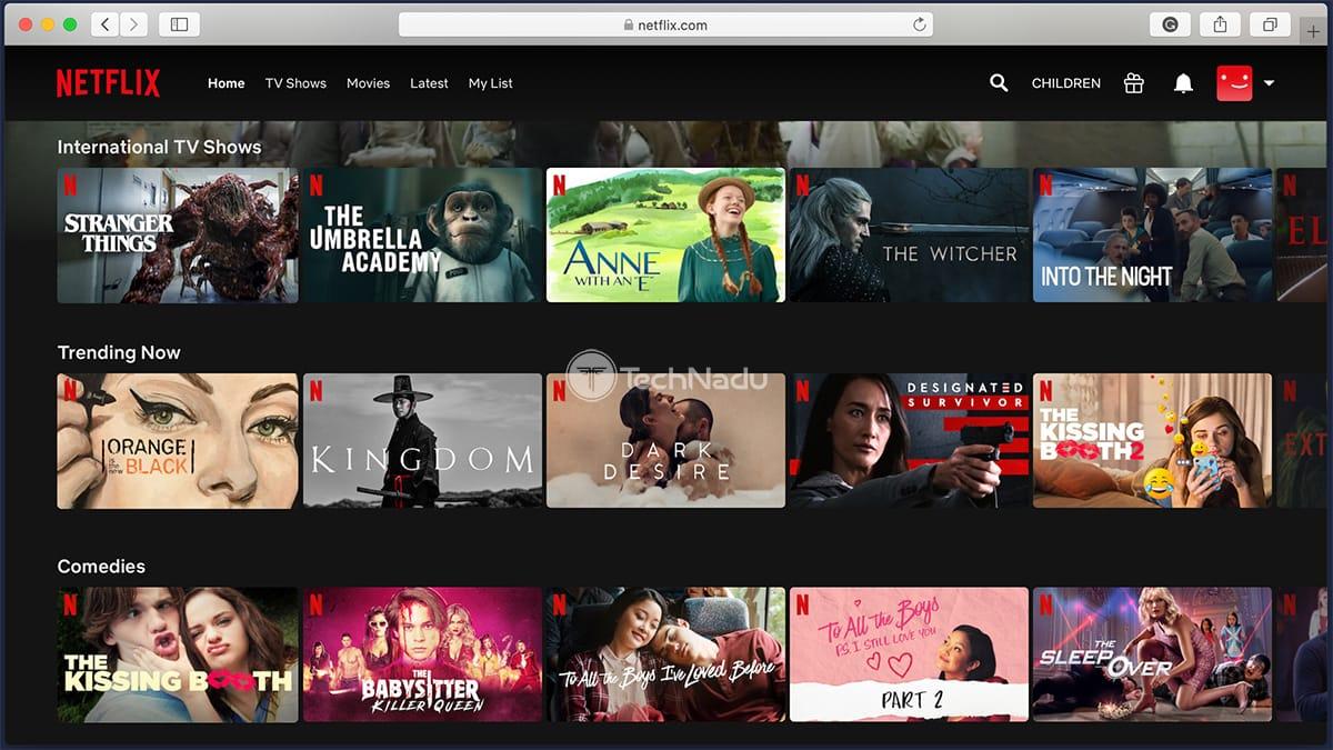 South Korean Version of Netflix