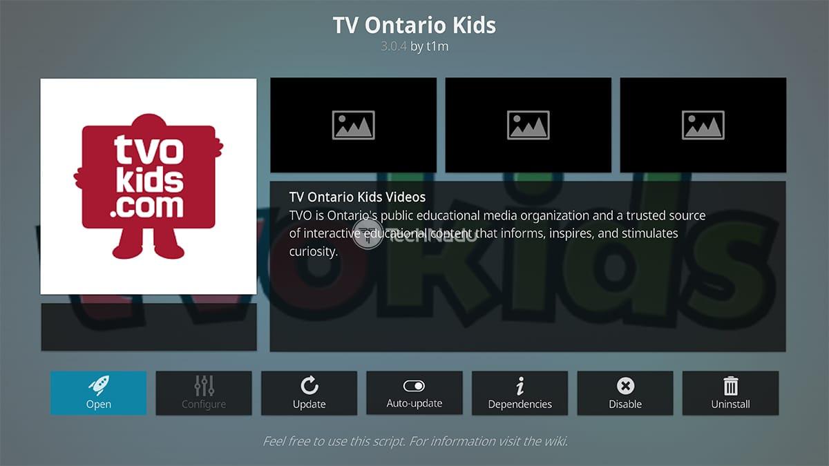 TV Ontario Kids Kodi Addon