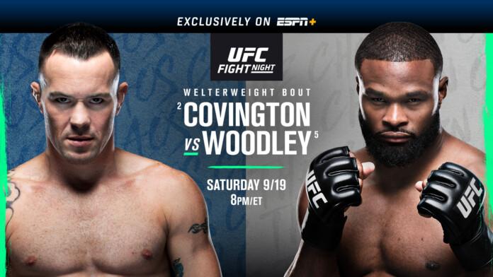 UFC Fight Night: Covington vs. Woodley