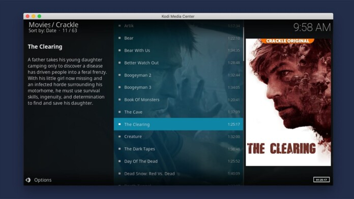 Using an Addon to Stream Video via Kodi