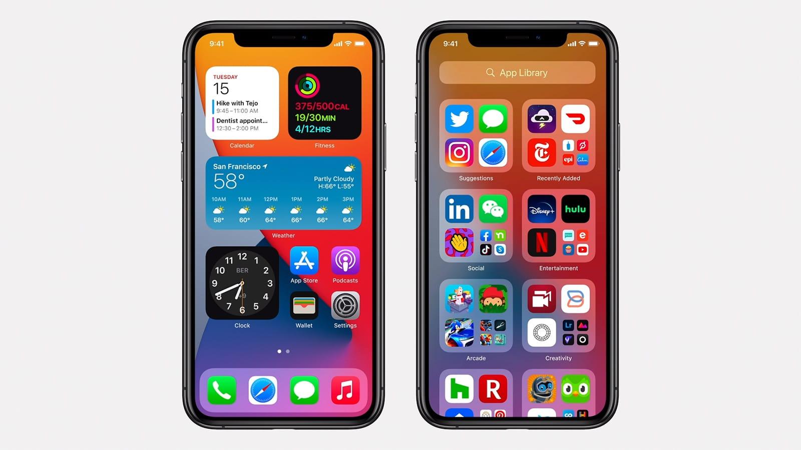 iOS 14 New Home Screen