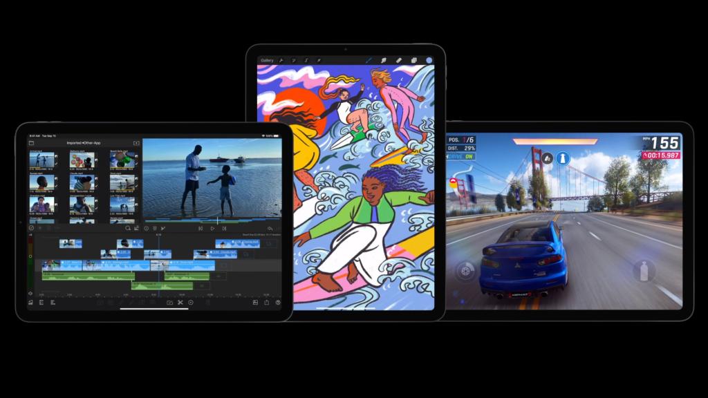 iPad Air power