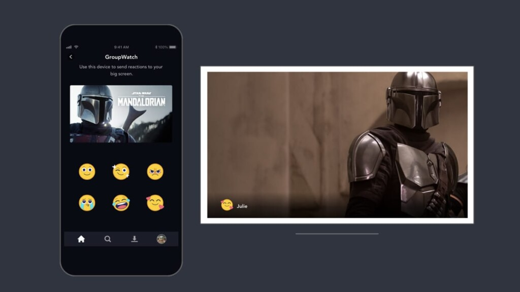 Disney Plus GroupWatch Interaction Emojis