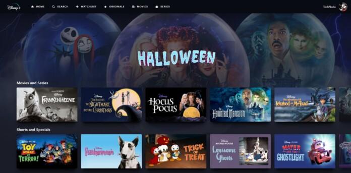 Disney Plus Halloween Collections