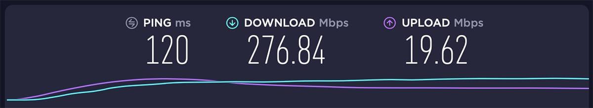 Testing ExpressVPN Server in Canada