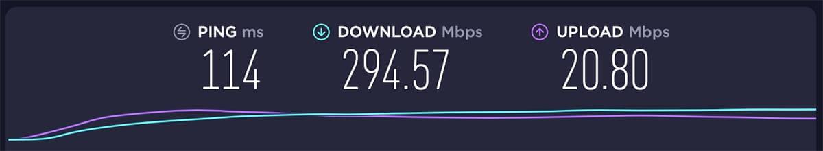 Testing ExpressVPN Server in the USA