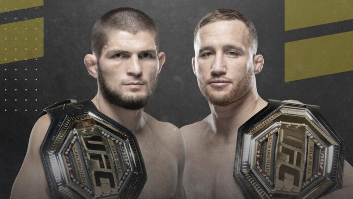 UFC 254 Poster Art