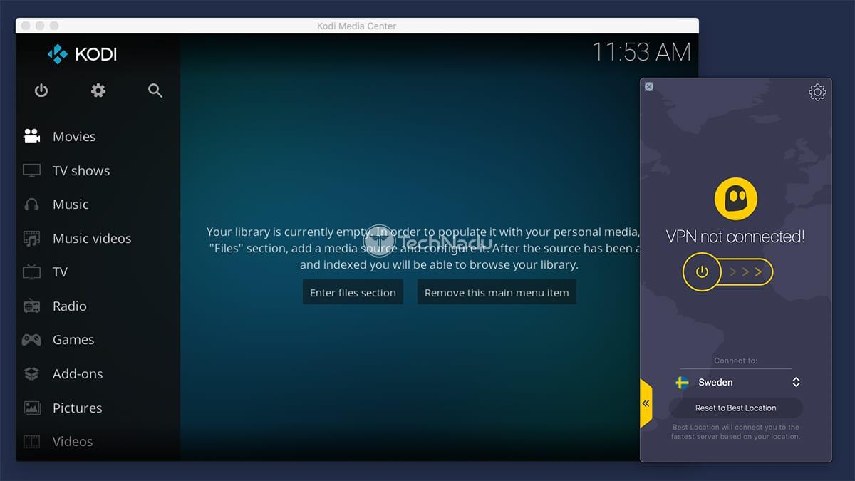 Using CyberGhost VPN to Unblock Kodi Addons