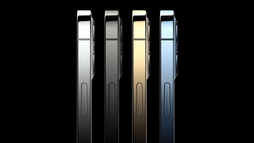 iPhone 12 Pro Lineup Colors