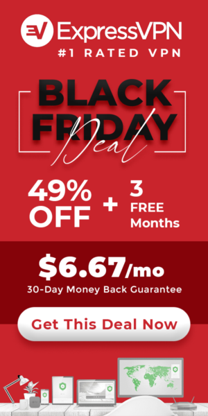 ExpressVPN Black Friday 2020 Deal